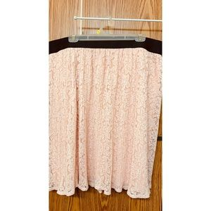 Ashley Stewart Lace Skirt